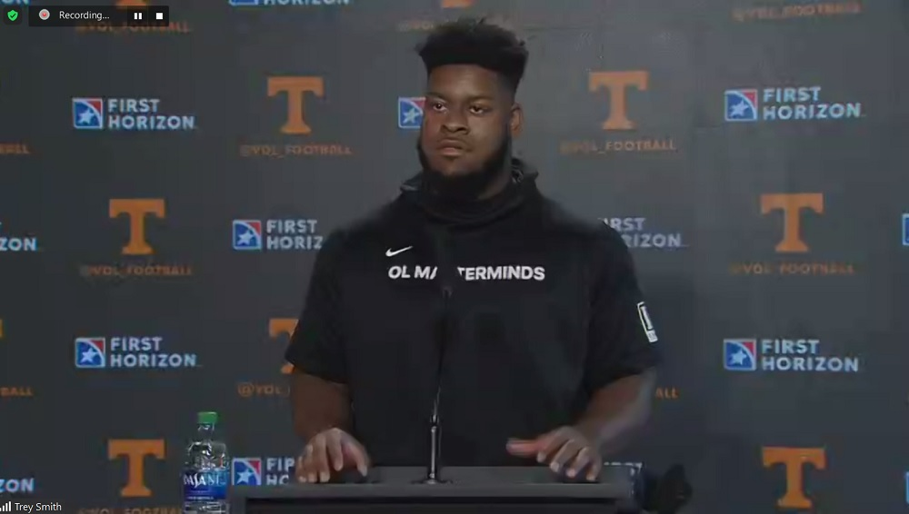 trey smith pro day