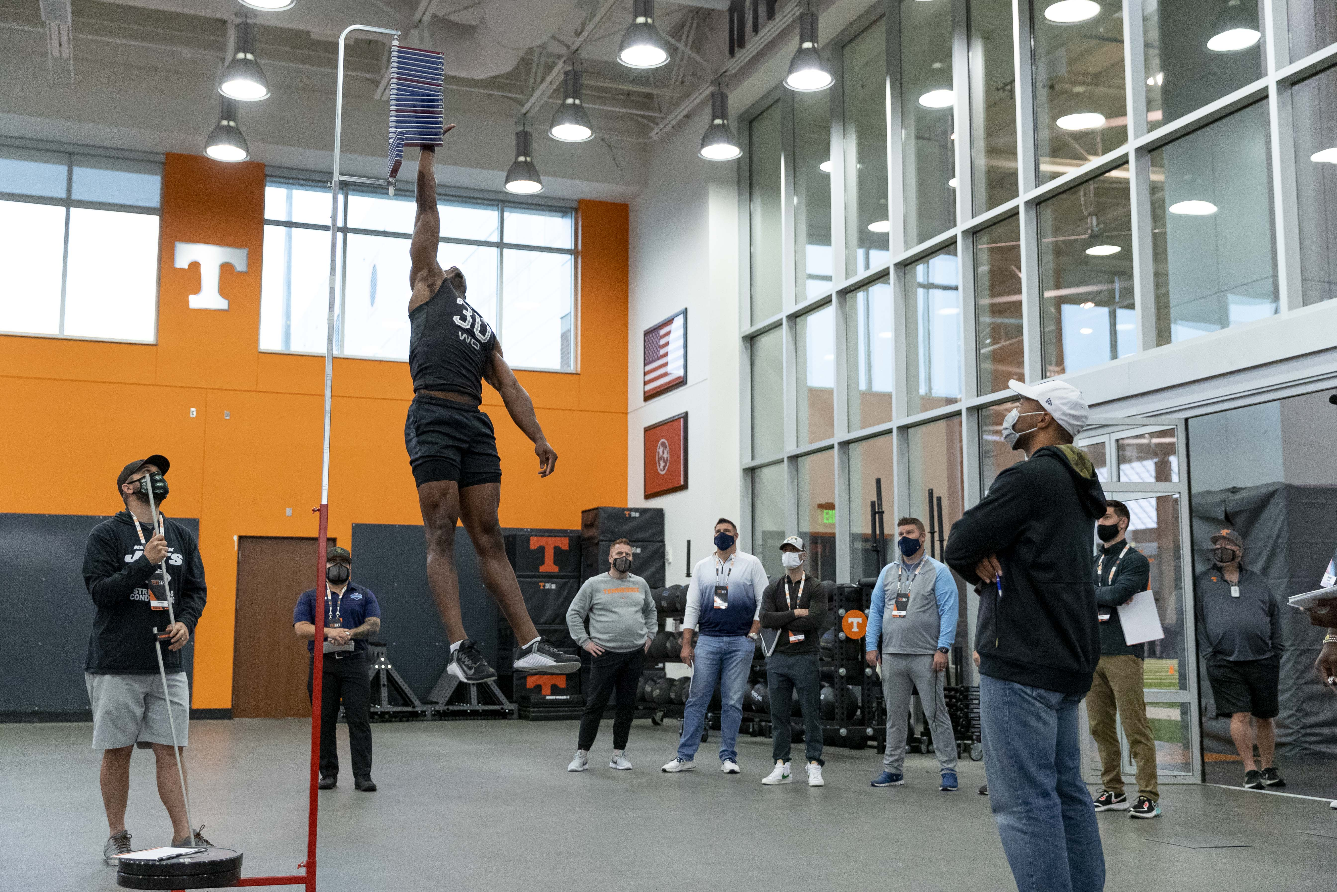 KNOXVILLE, TN - 2021.03.25 - 2021 Pro Day