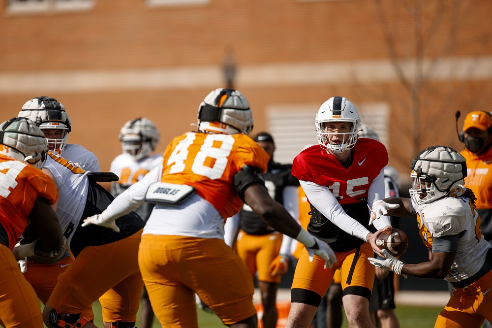 PHOTO GALLERY: Vols Football Spring Practice #4