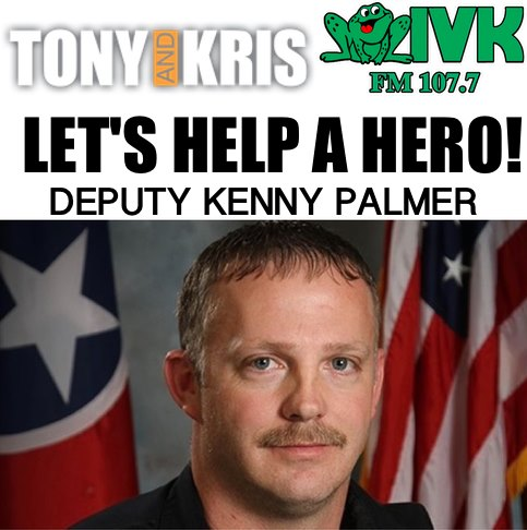 Help Loudon County Sheriff's Deputy Kenny Palmer and his family