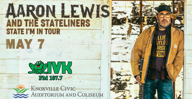 May 7 – Aaron Lewis at Knoxville Civic Coliseum