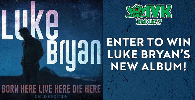 Enter to Win Luke Bryan's New Album