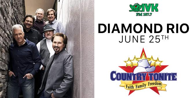 June 25 – Diamond Rio at Country Tonite Theatre
