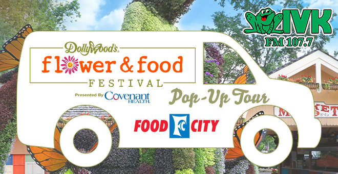 Dollywood Flower & Food Pop-Up Tour at Food City
