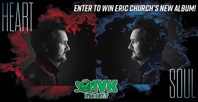 Enter to Win Eric Church's New Album