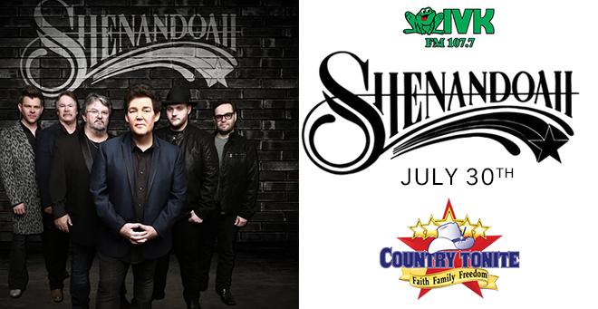 July 30 – Shenandoah at Country Tonite