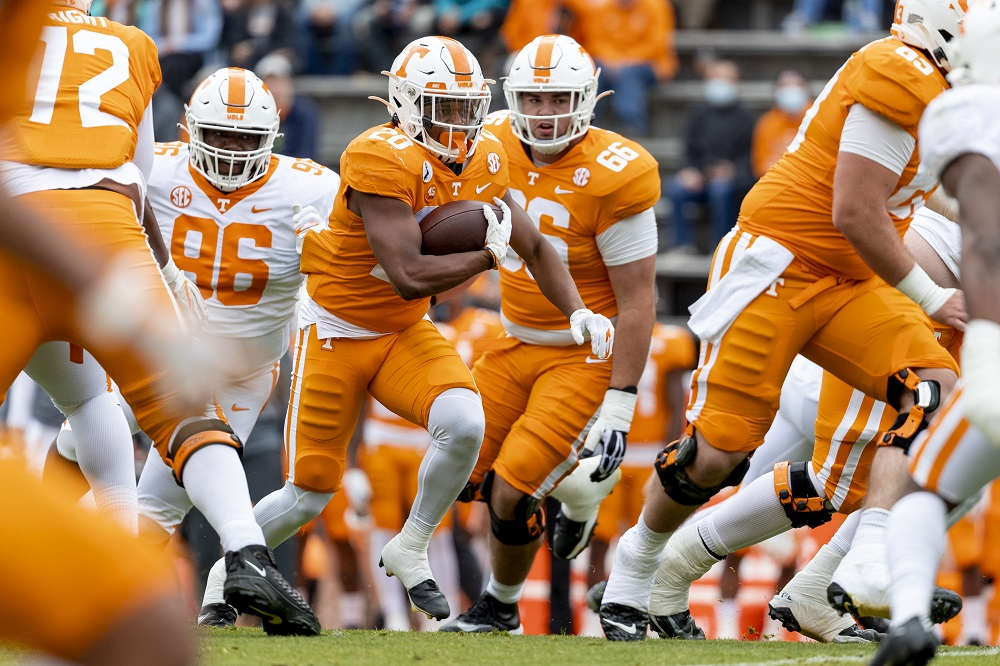KNOXVILLE, TN - 2021.04.24 - Orange and White Game