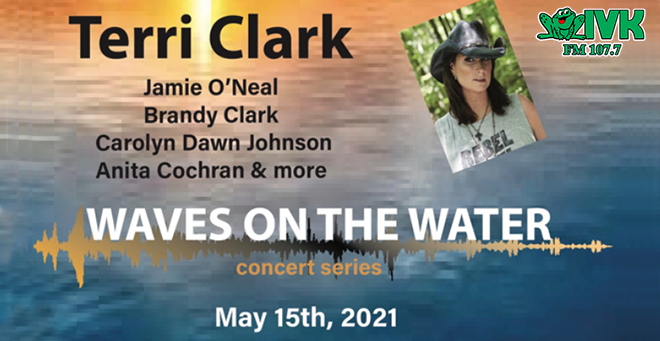 May 15 – Terri Clark at Waves on the Water