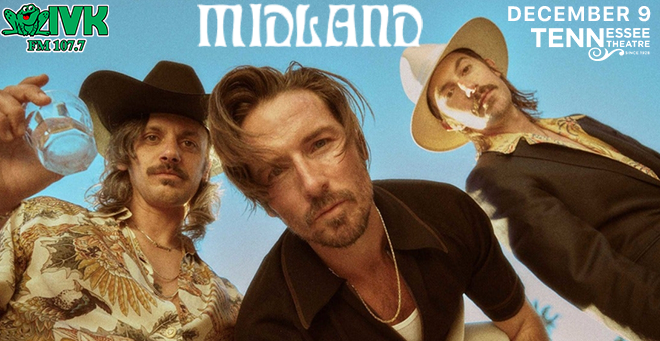 December 9 – Midland at Tennessee Theatre