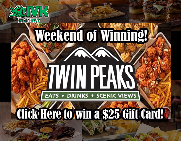 Win a Gift Card to Twin Peaks Restaurant!