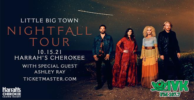 Little Big Town – October 15th at Harrah's Cherokee