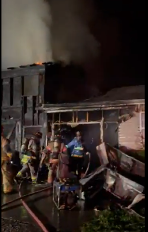 A House Fire in New Market Under Investigation by Fire Officials