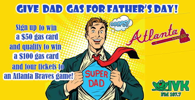 Give Dad Gas for Father's Day!
