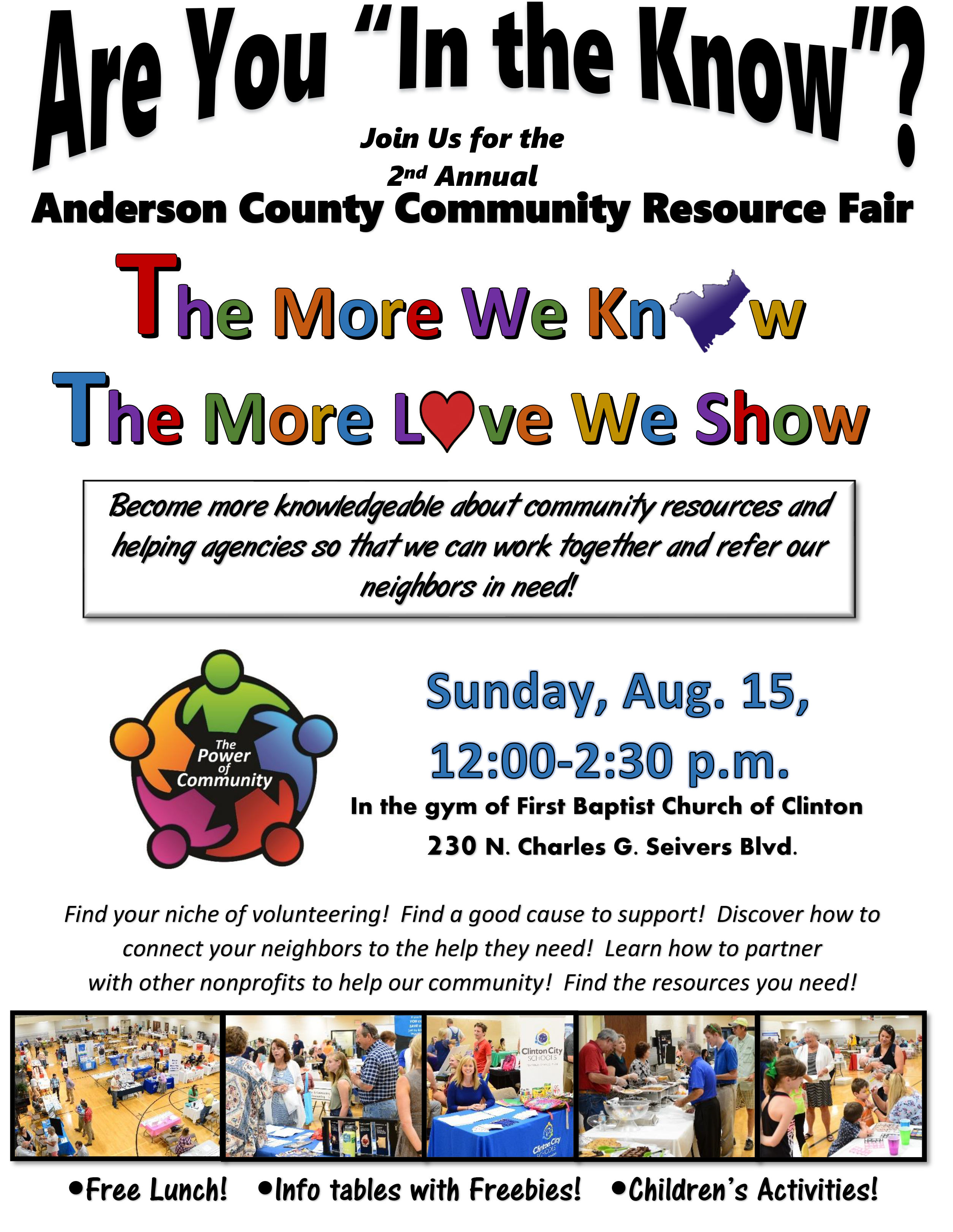 Anderson County Community Resource Fair