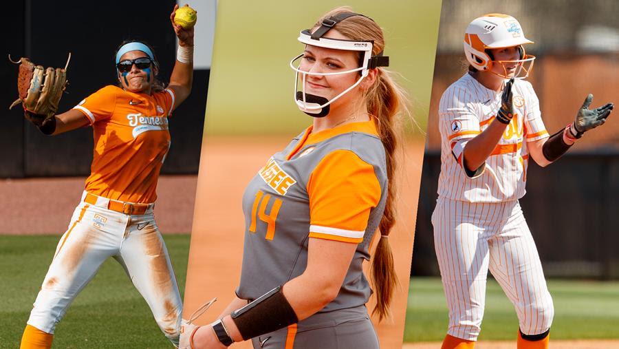 3 lady vols softball