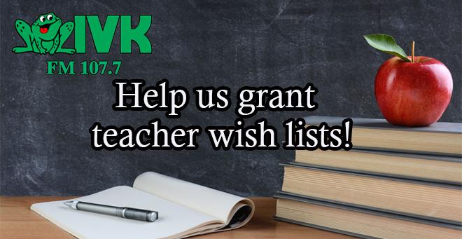 Help us grant Teacher Wish Lists!