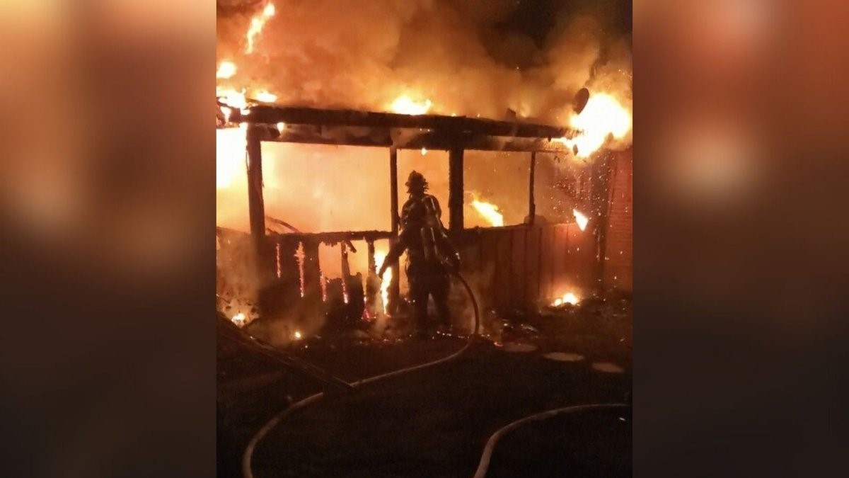 Knoxville Fire Department Battles Overnight North Knoxville House Fire
