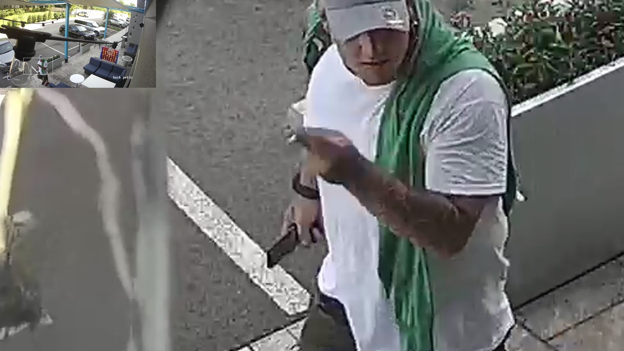 Knoxville Police Searching for Man Suspected of Stealing Catalytic Converter