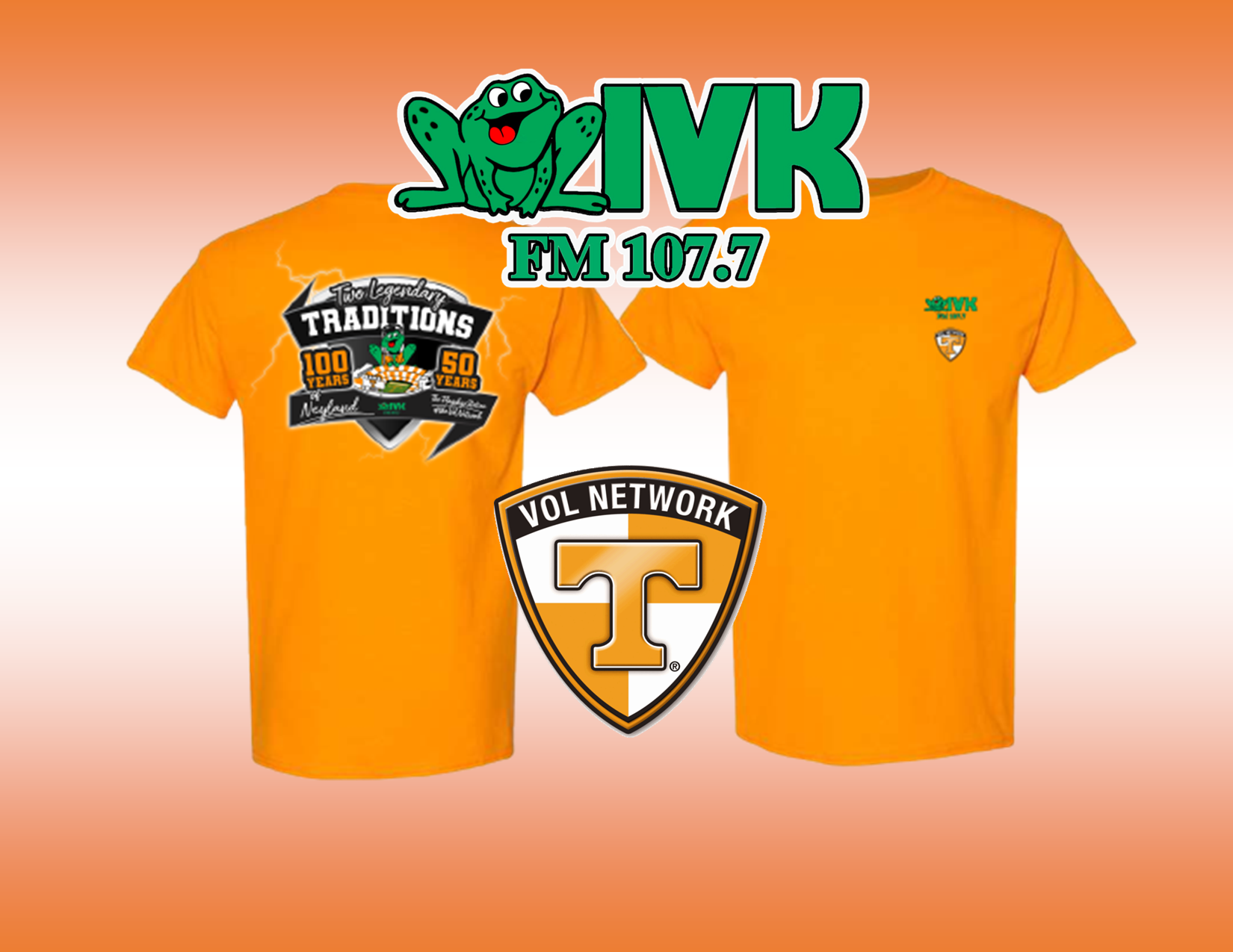 WIVK Gameday T-shirts – BUY ONLINE!