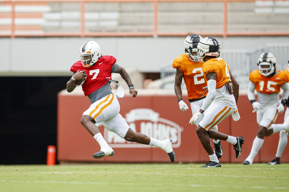Compilation Page of All Tennessee Football Practice Highlights & Interviews