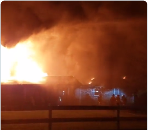 Officials are Investigating a House Fire in Gibbs