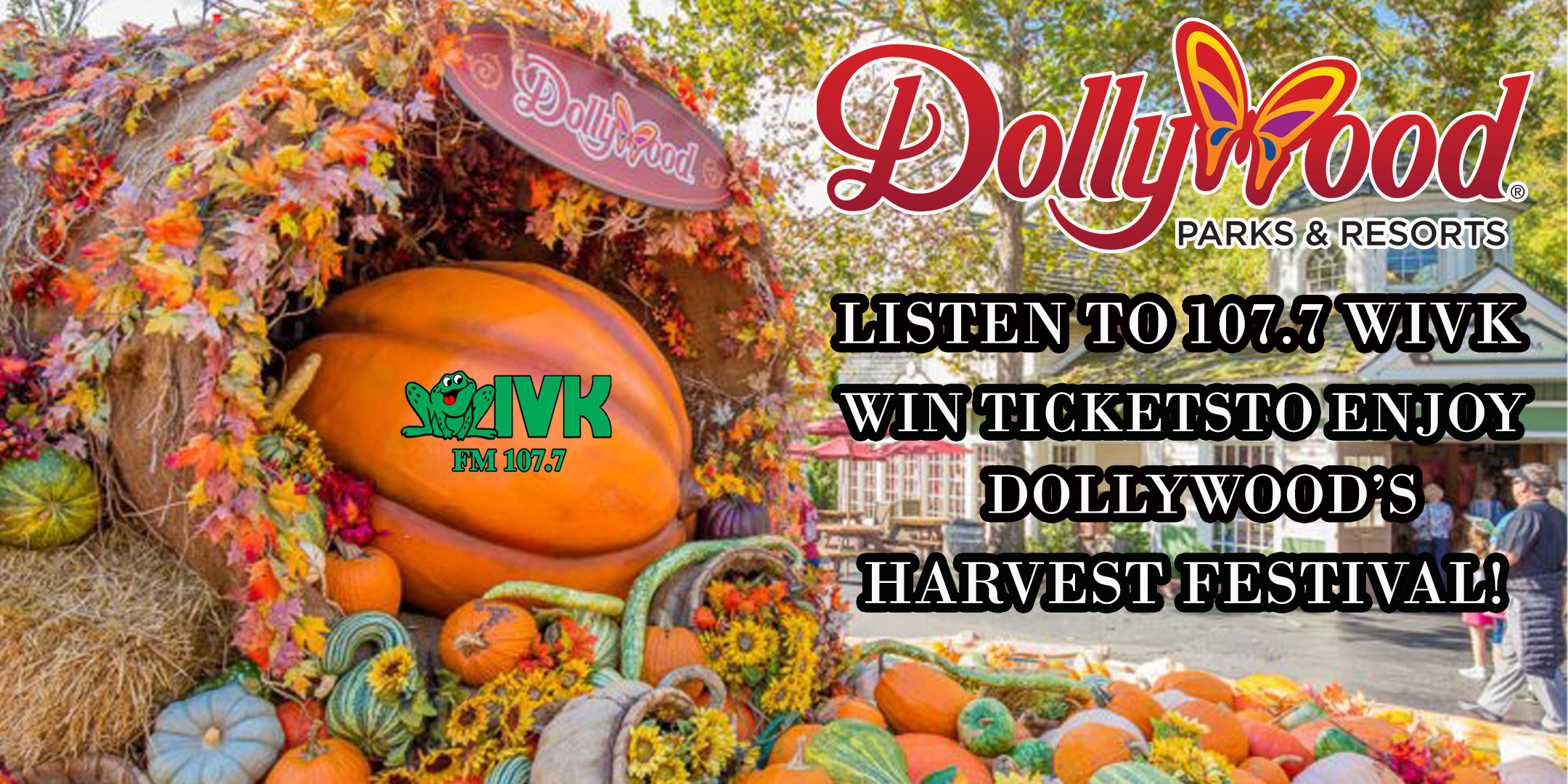 Win tickets to enjoy Dollywood's Harvest Festival!