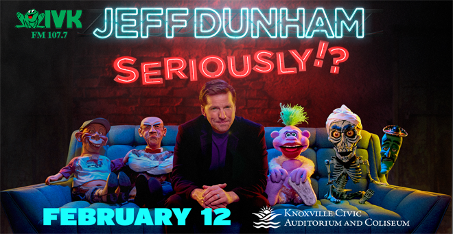 """Win tickets to Jeff Dunham's """"Seriously"""" Tour!"""