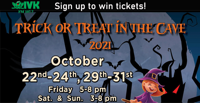 Trick or Treat in the Cave at Cherokee Caverns!