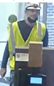 FBI and Morristown Police Looking for a Suspected Bank Robber
