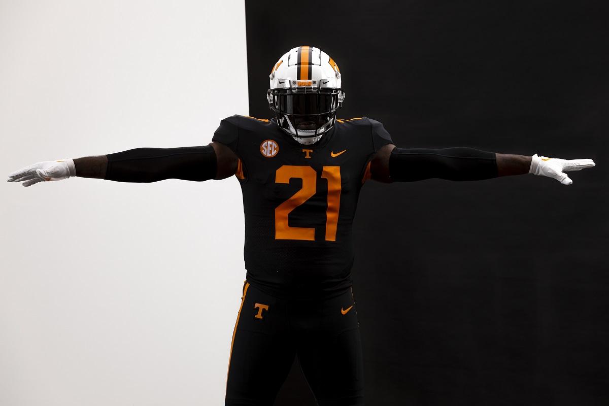 "WATCH: Tennessee Football Announces Nike ""Dark Mode"" Black Alternate Uniform vs. SC (Two videos)"