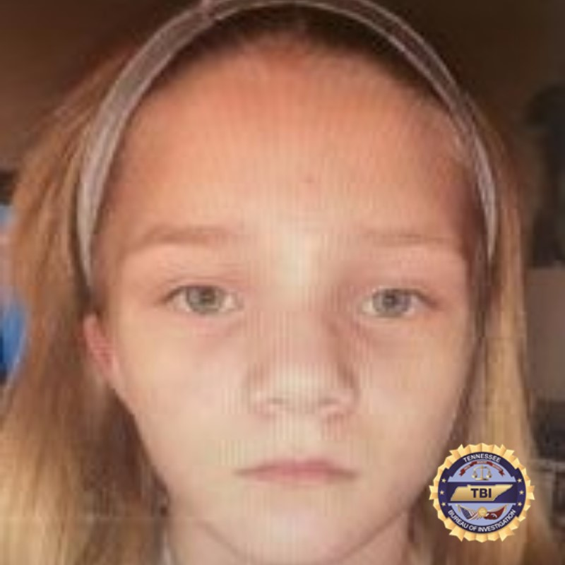 TBI Issues an Endangered Child Alert for a 10 Year-Old Girl