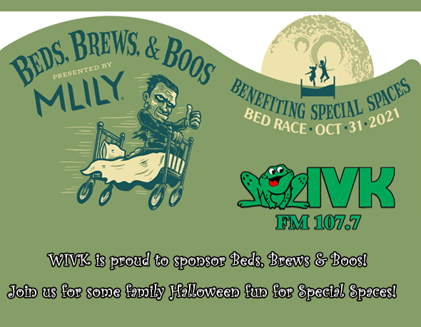 Beds, Brews &  Boos Bed Race to benefit Special Spaces