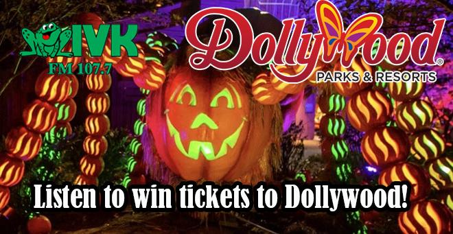 Win tickets to Dollywood's Great Pumpkin Luminights!