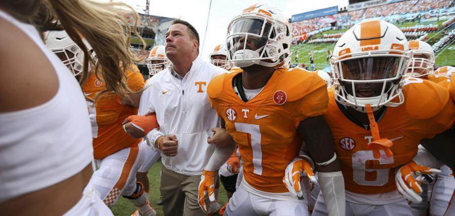 "Season opening win a ""starting point"" for Tennessee with OU next"