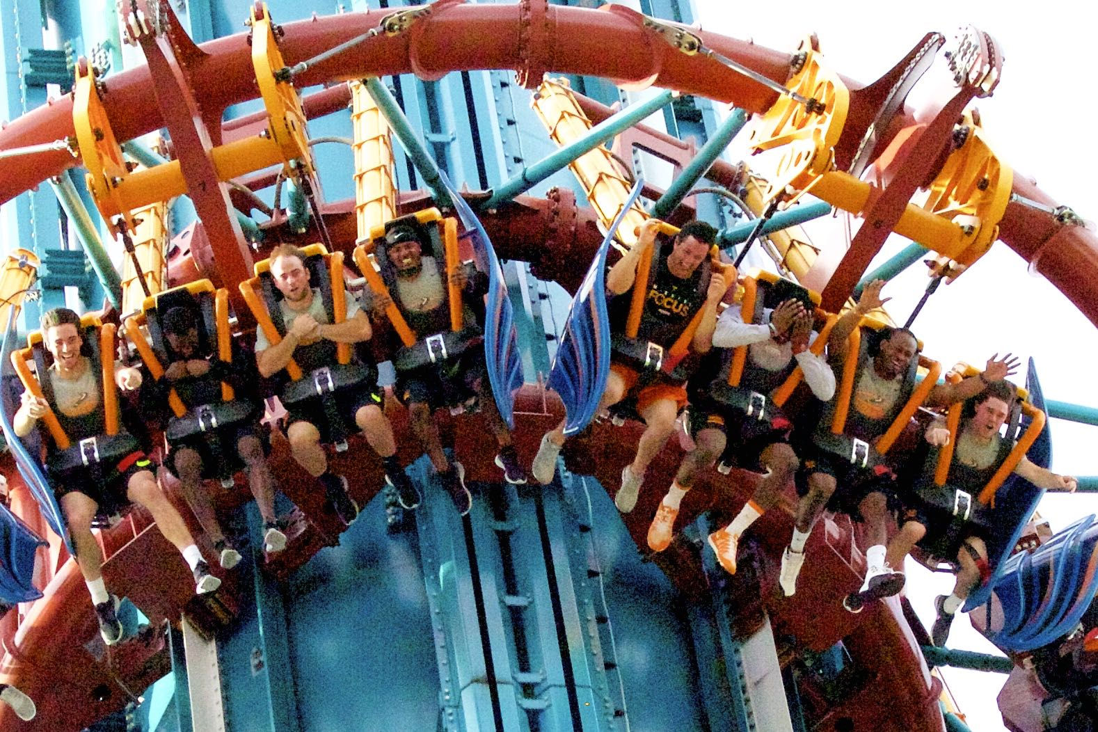 Photo Gallery: Vols Visit Busch Gardens