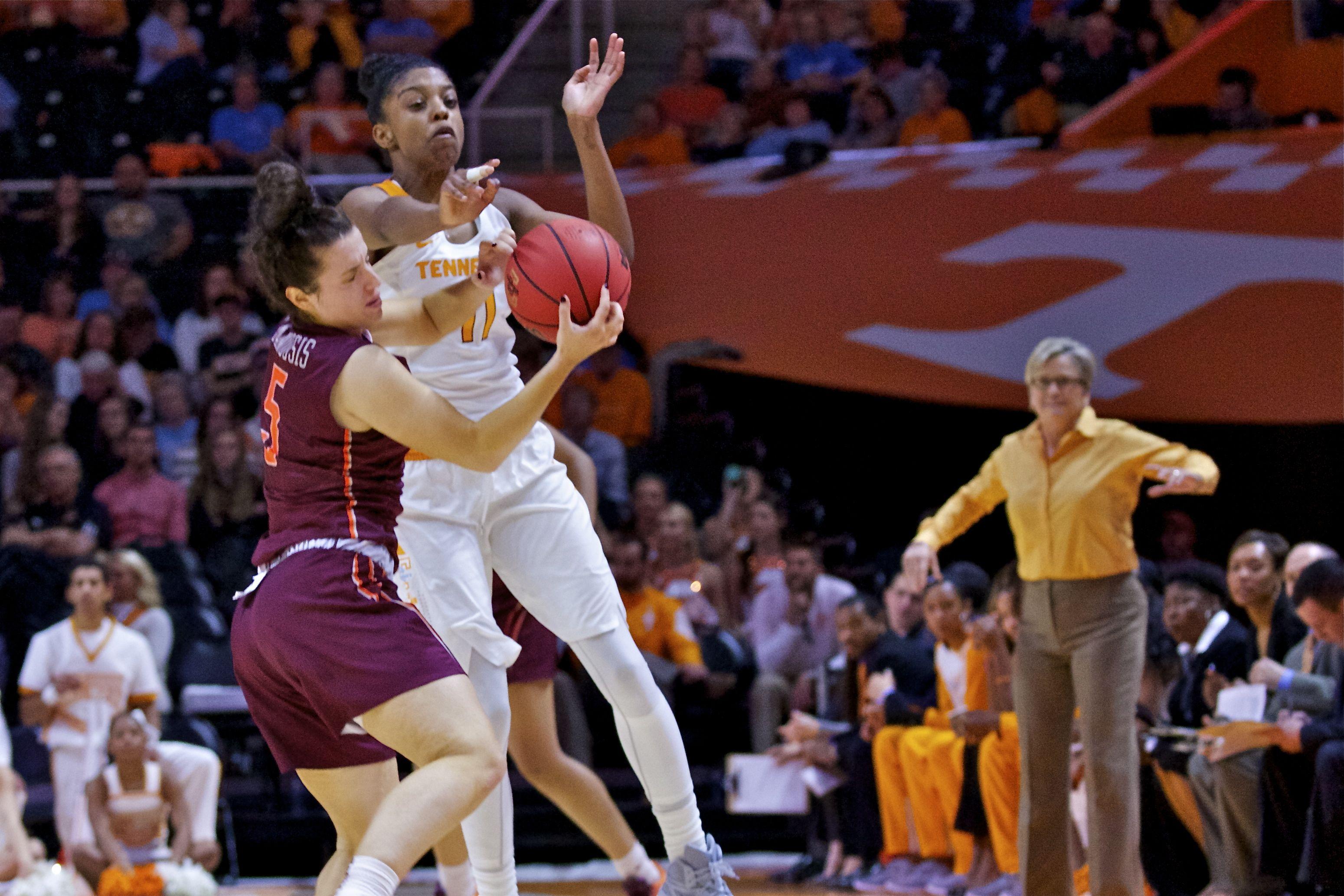 Photo Gallery: Lady Vols vs. Virginia Tech 11-06-15