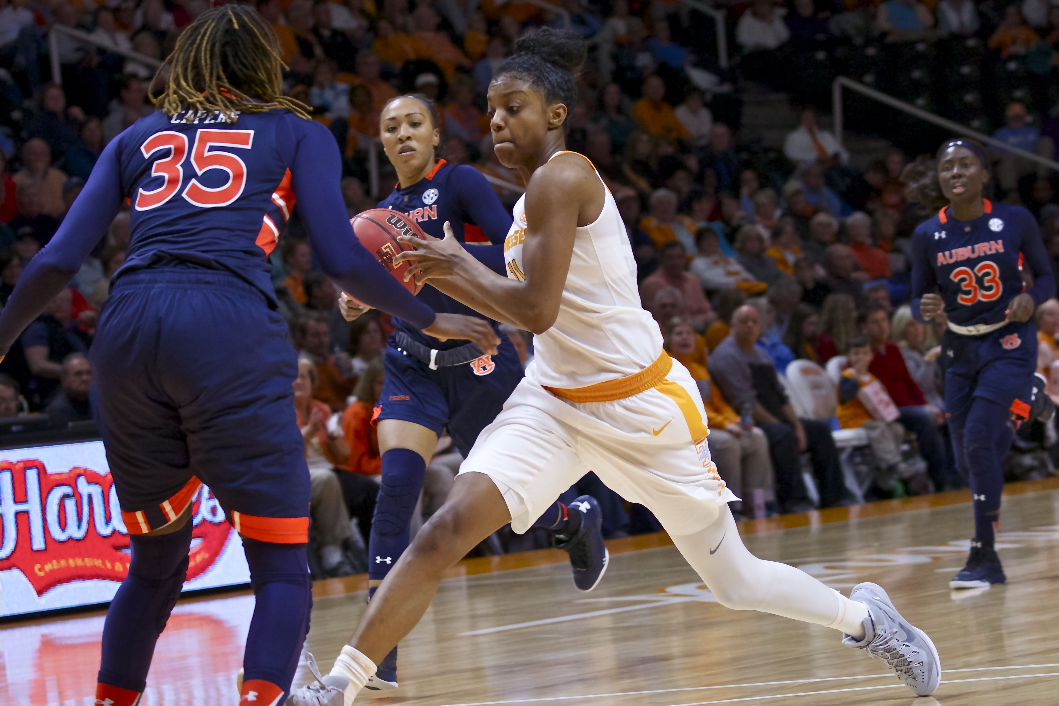 Photo Gallery: Lady Vols vs. Auburn Basketball 1-10-16