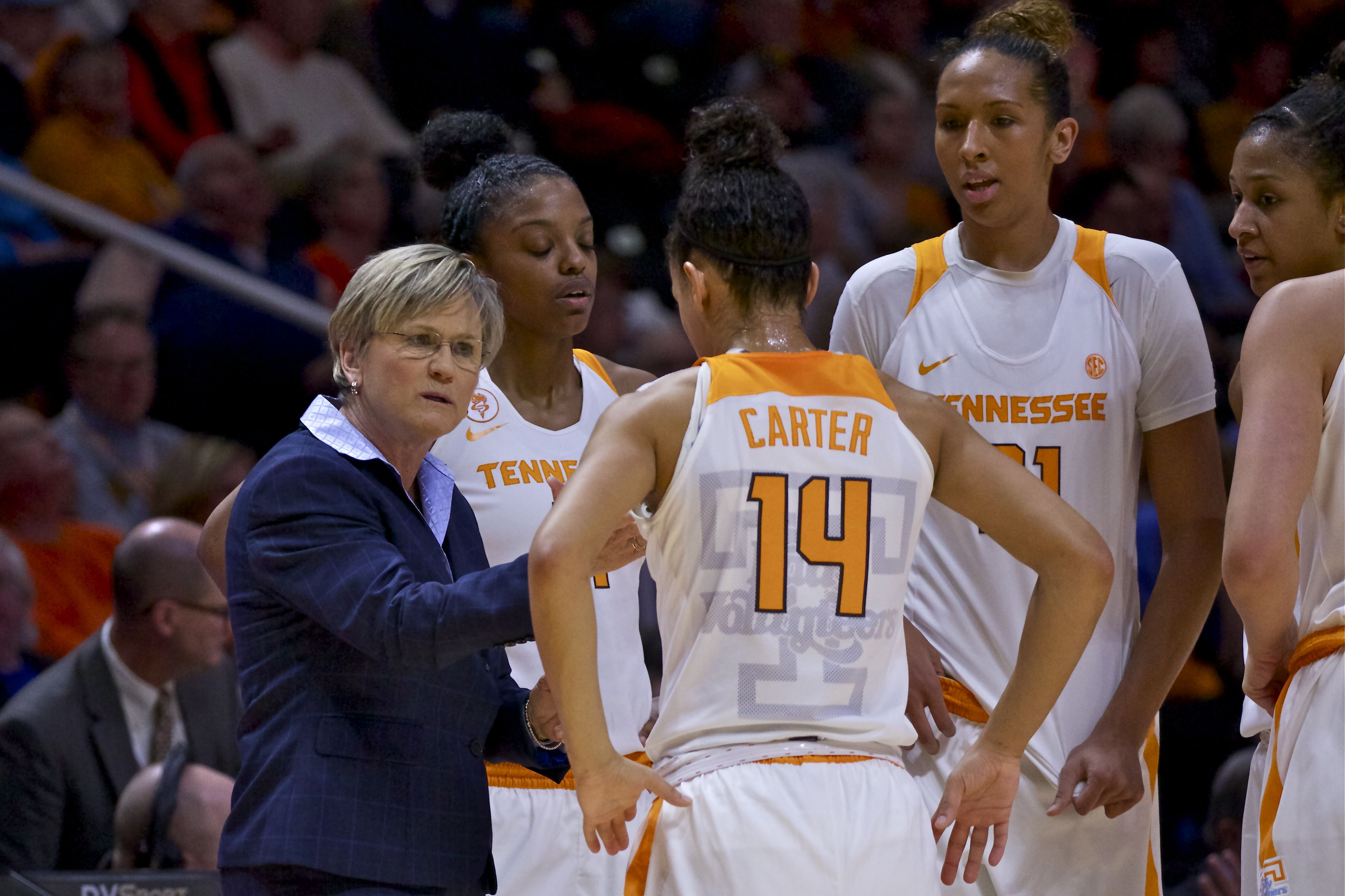 Photo Gallery: Lady Vols vs. Alabama 1-31-16