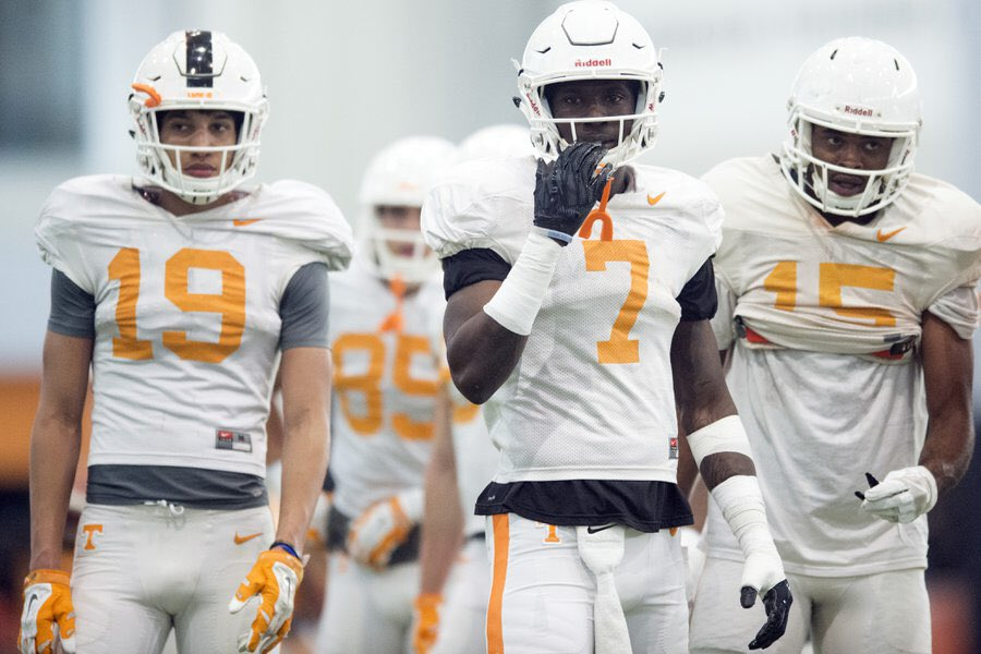 Tennessee's receivers have plenty to prove