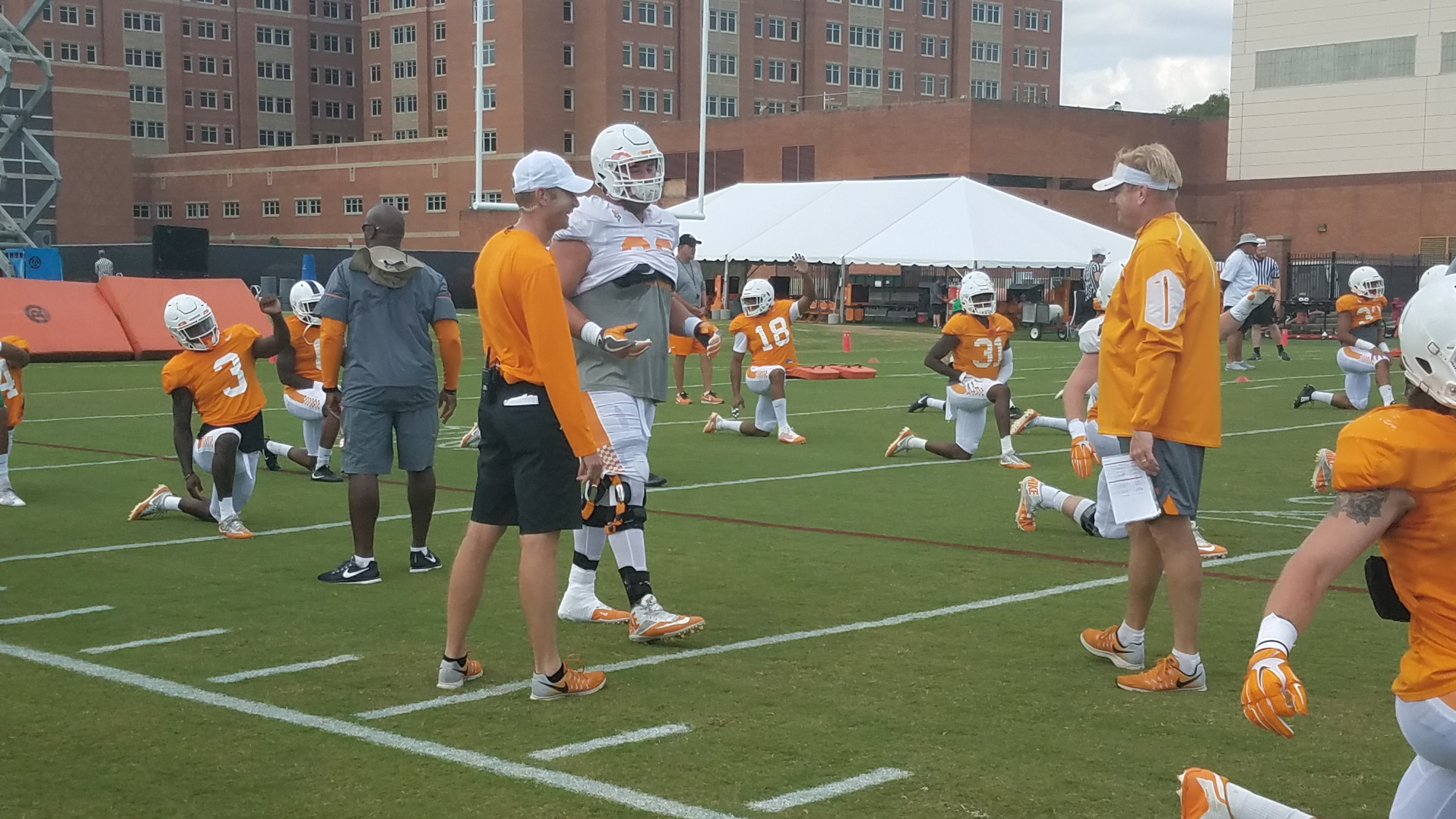 Photo Gallery from Vols preseason practice 8