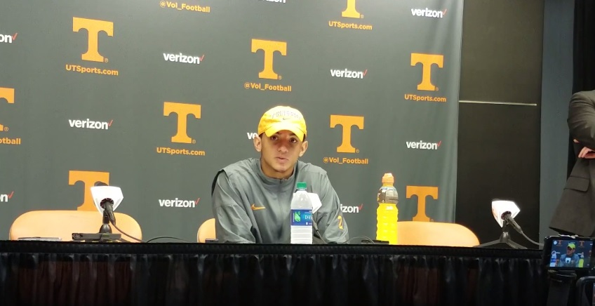 """Video: Jarrett Guarantano on final play and loss """"Rollout. I thought I had him. Better throw, whatever I have to do. Hurts."""""""