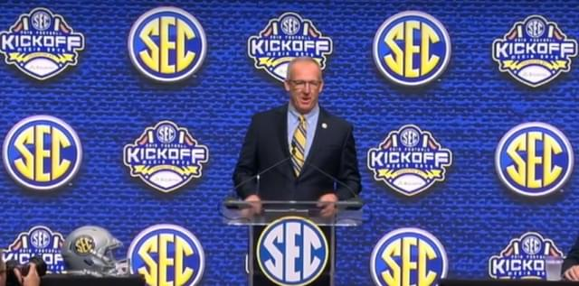 Statement from SEC Commissioner Greg Sankey on Big 10/Pac 12
