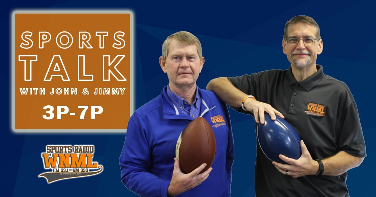 SportsTalk with John & Jimmy (3-7p)