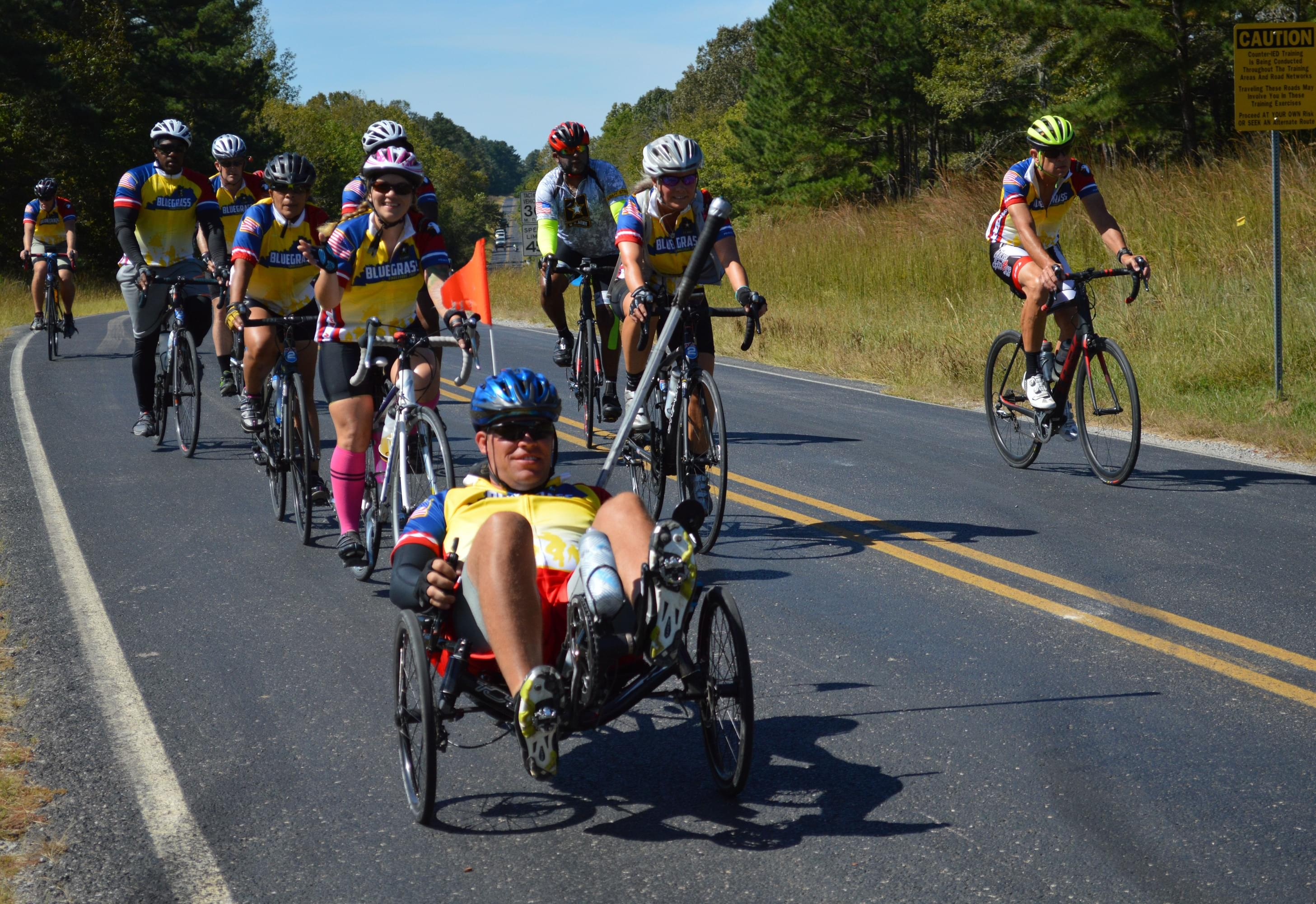 Wounded Soldiers Biking 101 Miles Later this Month