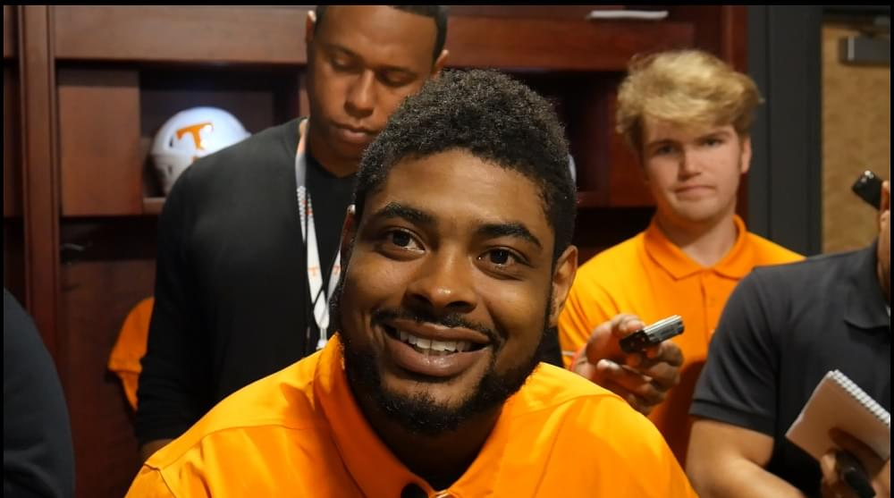 "Video: Jennings on SEC POTW honor ""It meant a lot. First and foremost, it's a blessing."""