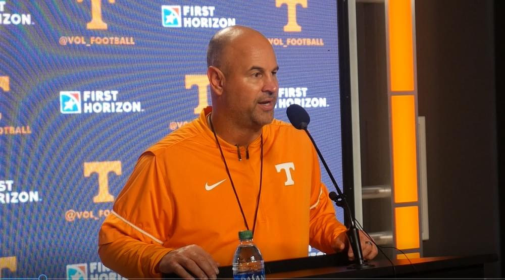 "Video: Pruitt on Guarantano ""Jarrett has something to prove. He knows that. We all have something to prove."""