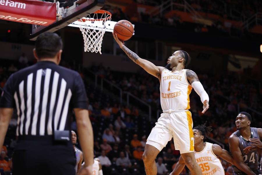 Vols Top Eastern New Mexico, 107-59, in Exhibition