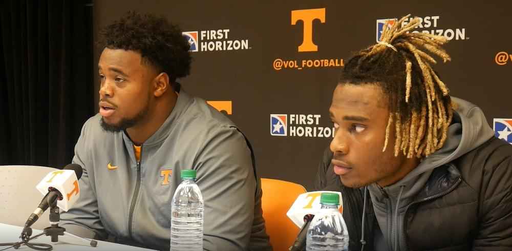 Video: Gray and Kennedy after Vols' 30-7 win over Blazers