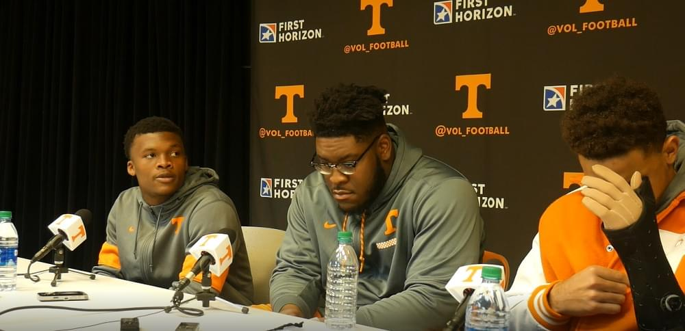 Video: Thompson, Smith and Guarantano after 30-7 UT win over UAB