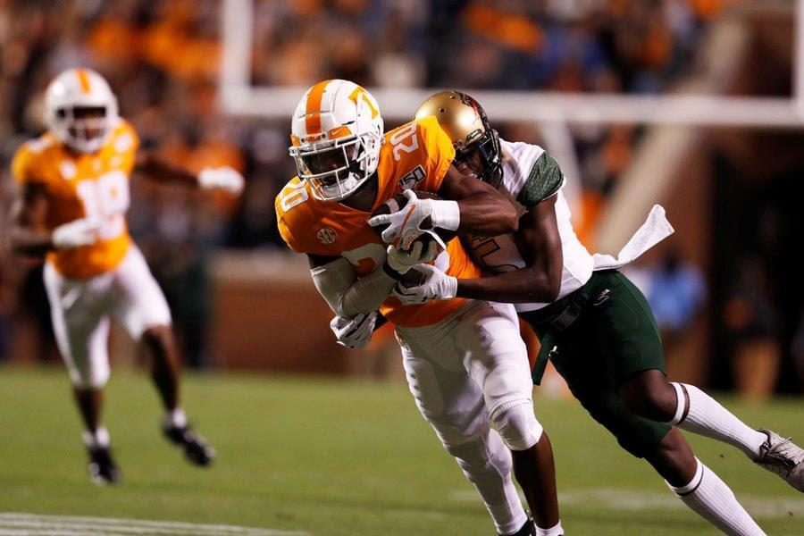 Thompson's Picks Propel UT To Homecoming Victory
